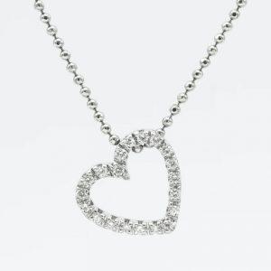 Silver Drop Necklace