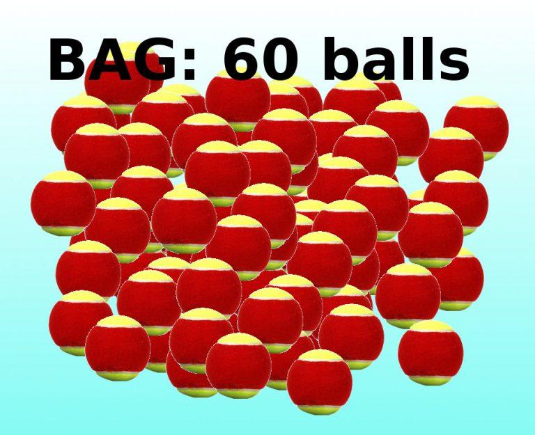 Stage 3 bag 60 balls