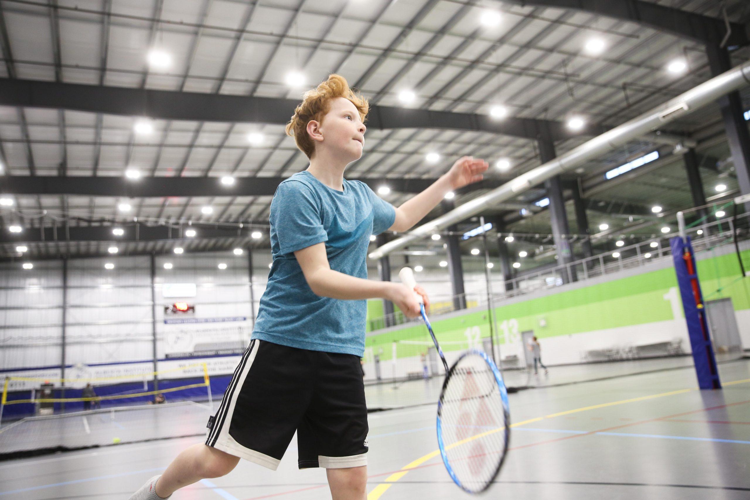 Badminton machines