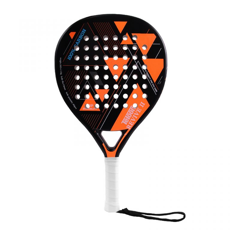 Paddle racket Teloon Revive 2 Neon Orange