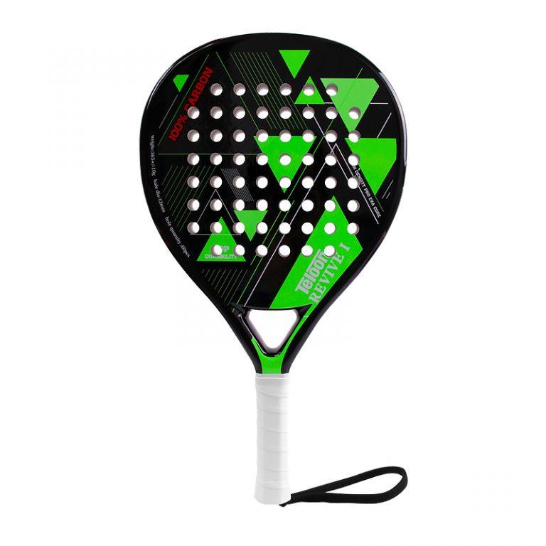 Paddle racket Teloon Revive 1 Neon Green