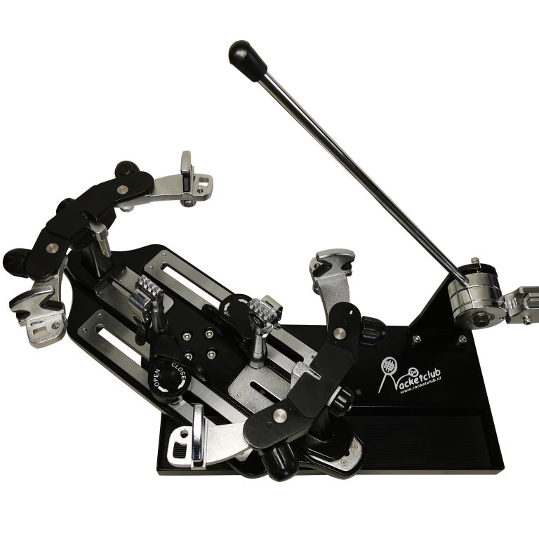 Racketclub Pro-2 lever stringing machine with complete toolset
